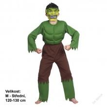 Dětský karnevalový kostým OBR HULK 120 - 130cm ( 5 - 9 let )